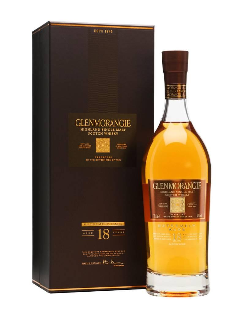Glenmorangie Distillery Co. of Tain Glenmorangie 18 Single Malt Scotch Whisky Scotch