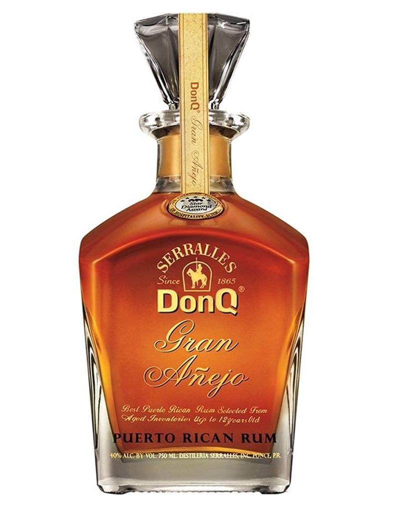 Don Q Don Q Gran Anejo Rum, Puerto Rico