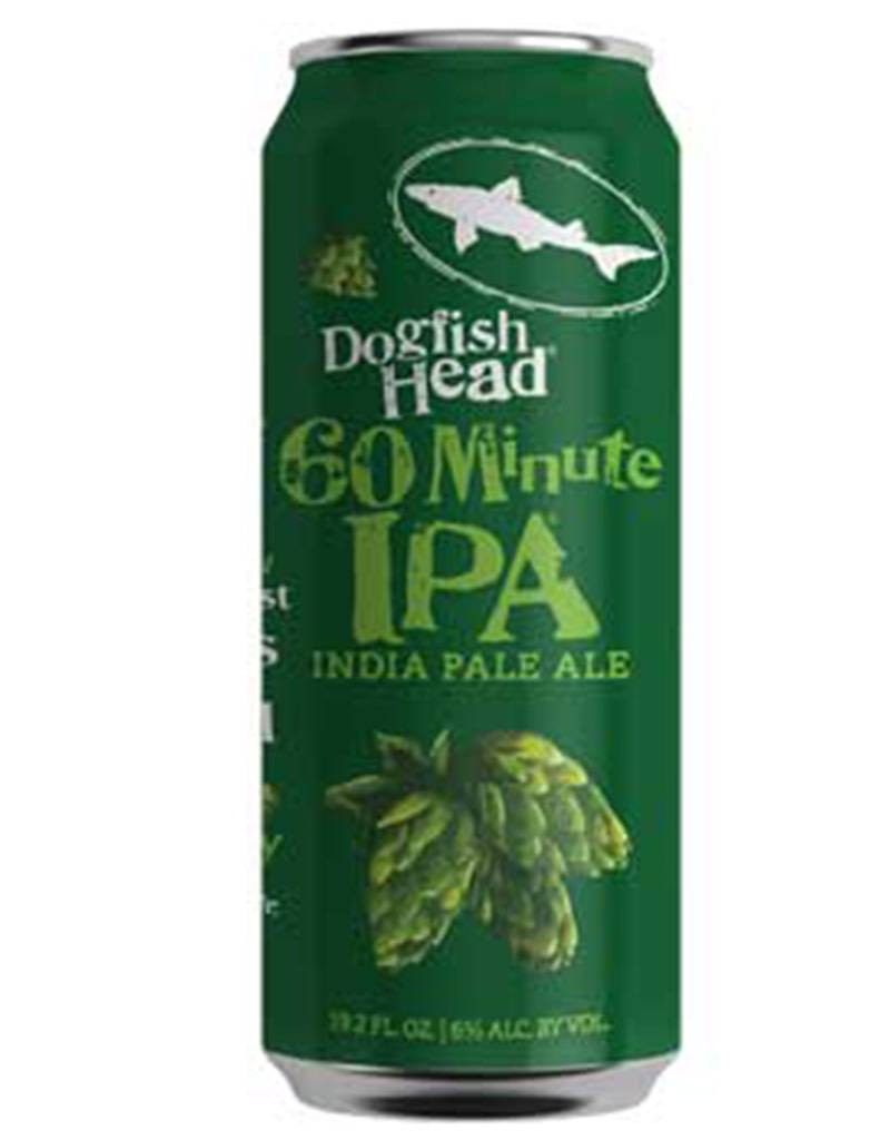 Dogfish Head Craft Brewery Dogfish Head 60 Minute IPA, 19.2oz Can