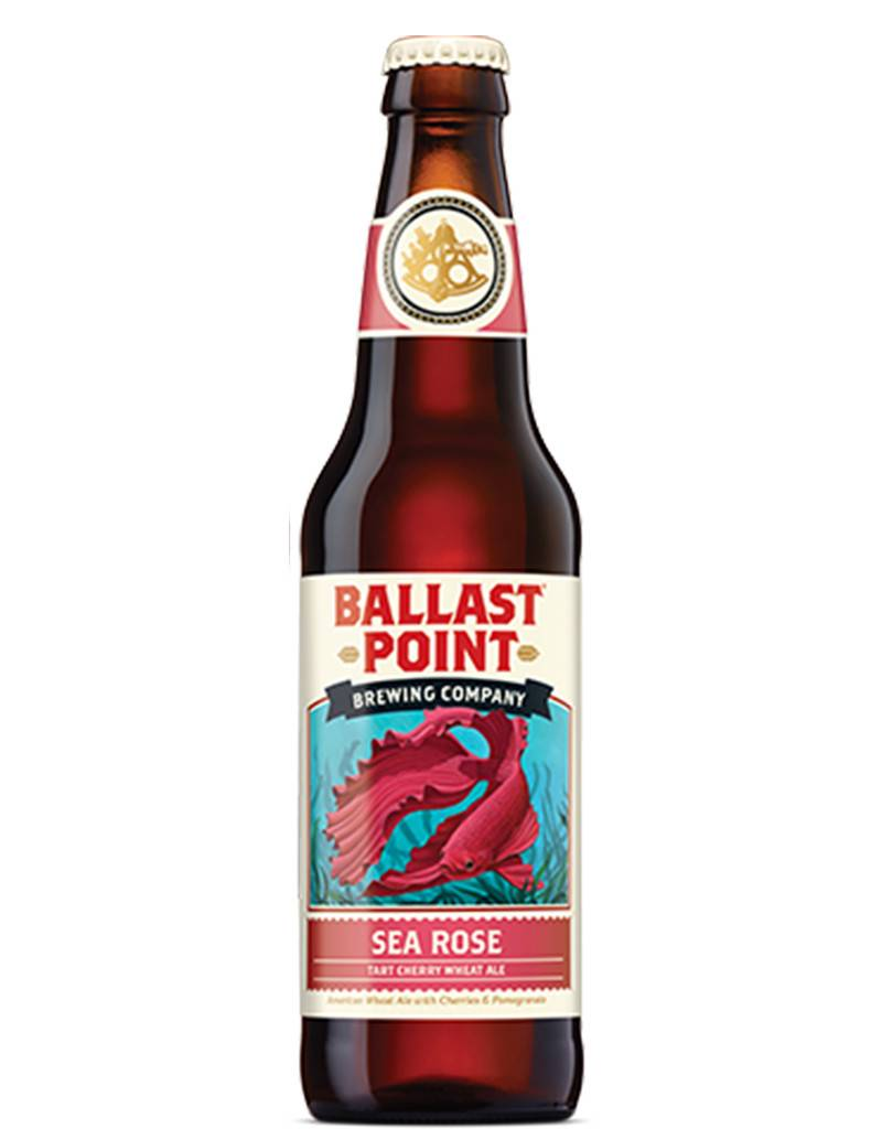 Ballast Point Brewing Company Ballast Point Sea Rose Tart Cherry Wheat Ale, 6pk Btls