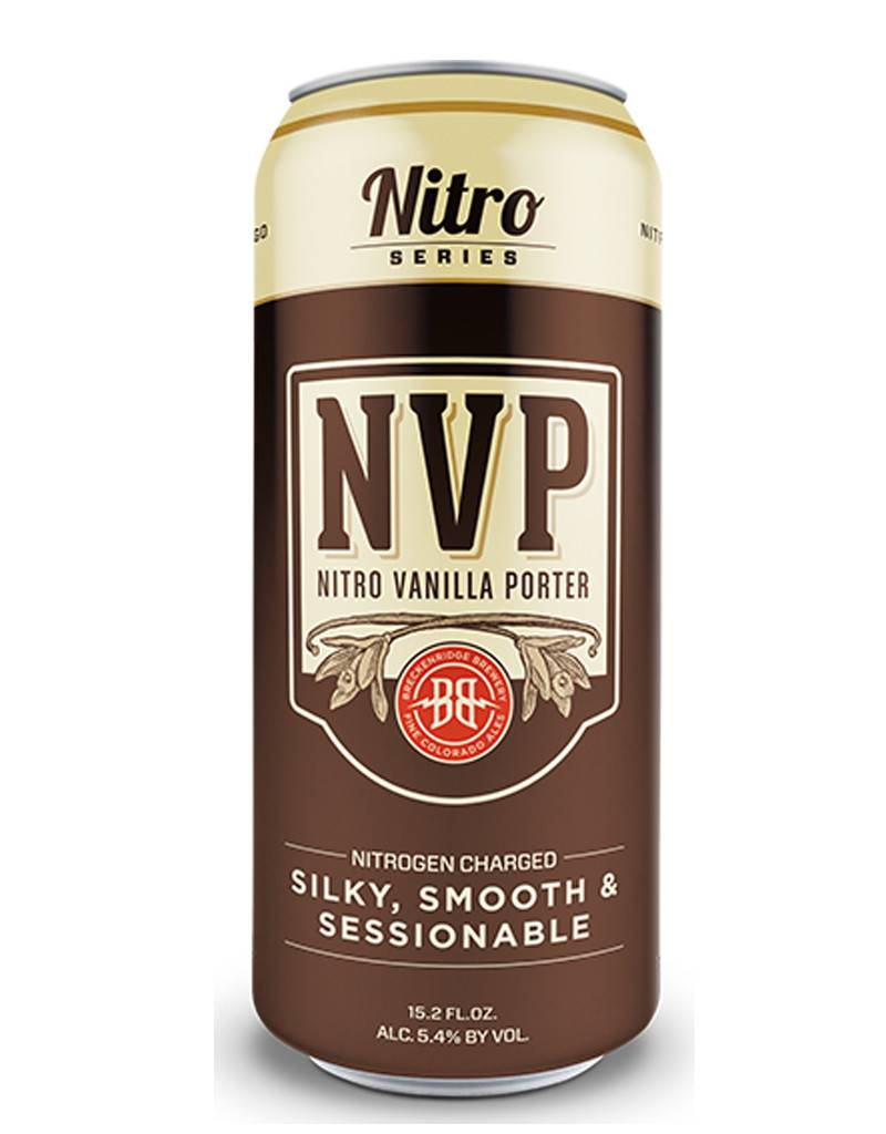 Breckenridge Brewery Breckenridge NVP Nitro Vanilla Porter, Single Can