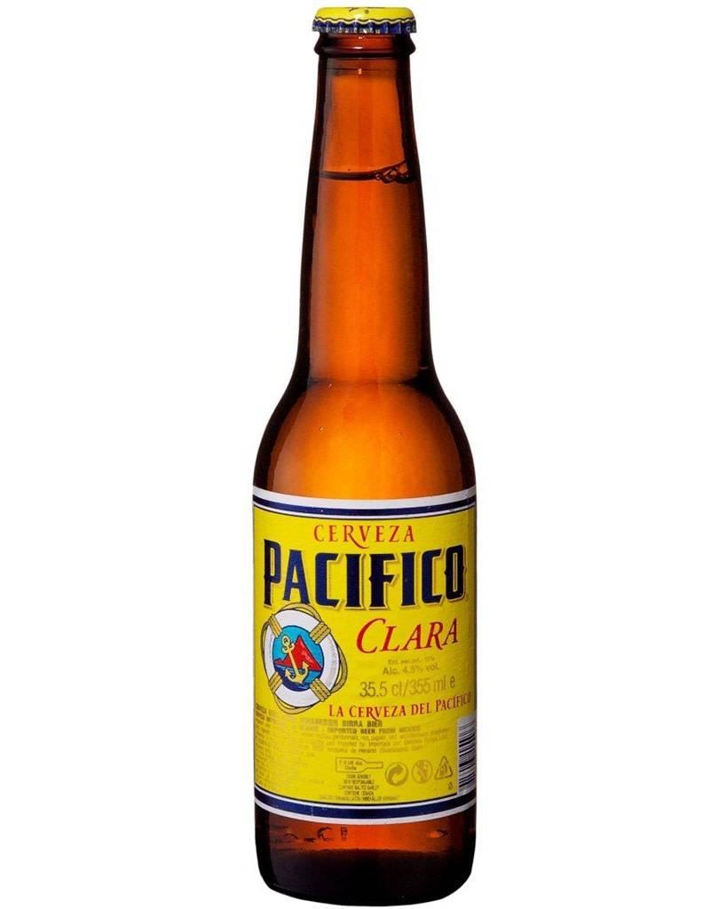 Cerveceria del Pacifico Pacifico Cerveza Clara, 6pk Bottles