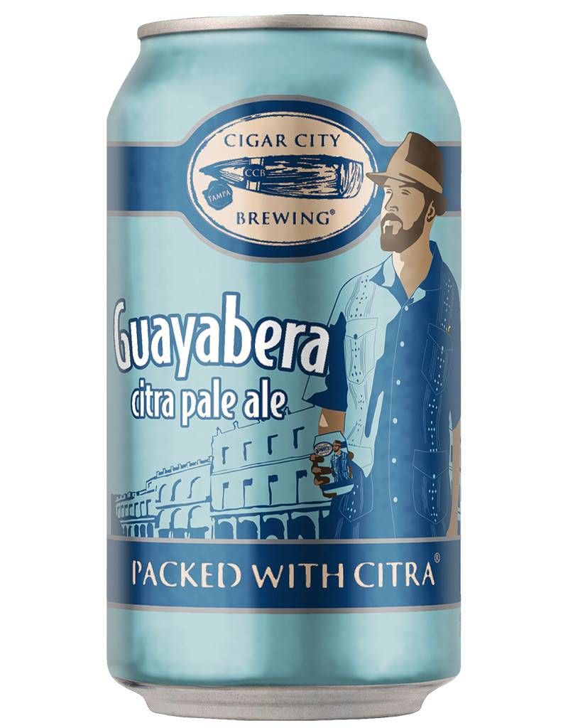 Cigar City Brewing Cigar City Guayabera Citra Pale Ale, 6pk Cans