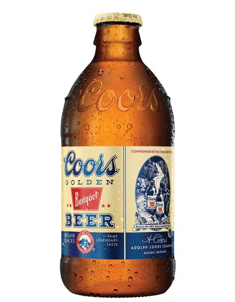 Adolph Coors Co. Coors Golden Banquet Beer, 6pk