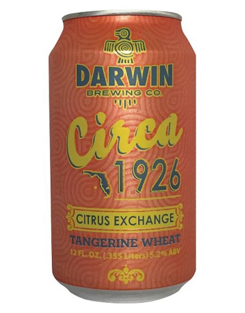 Darwin Brewing Darwin Brewing Circa 1926 Citrus Exchange Tangerine Wheat, 6pk
