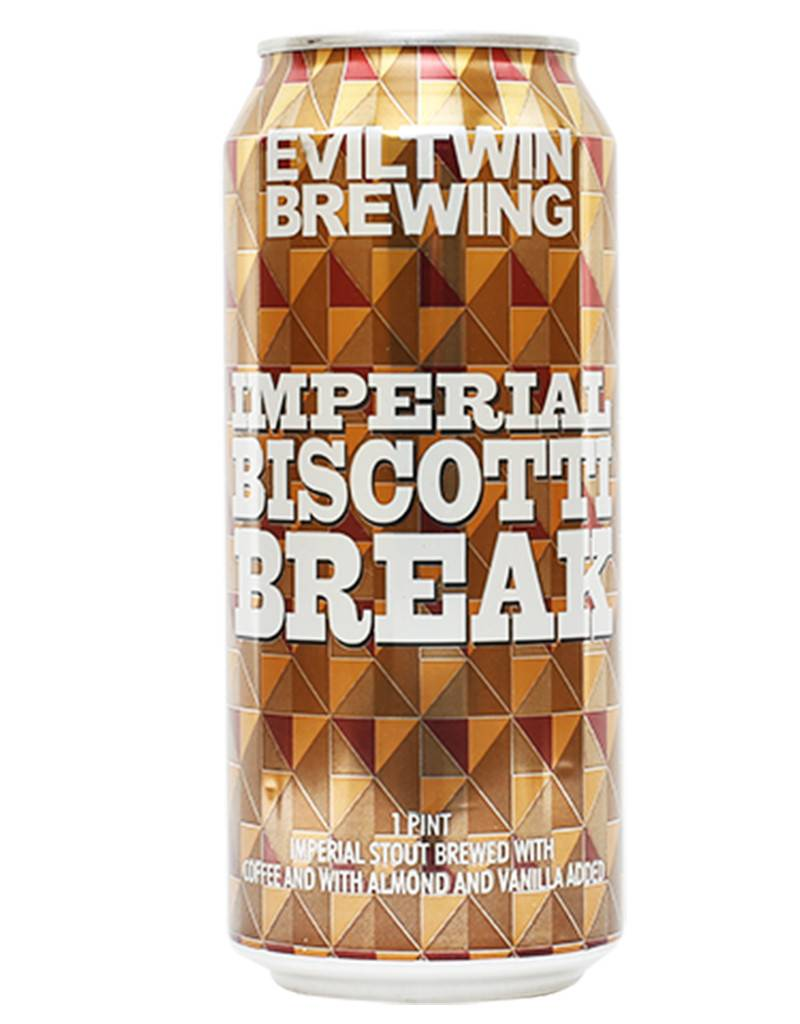 Eviltwin Brewing Evil Twin Brewing Imperial Biscotti Break Stout, Single Can