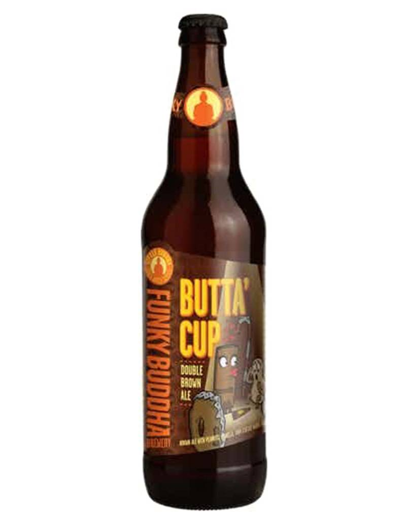 Funky Buddha Brewery 'Butta' Cup' Double Brown Ale, Pint