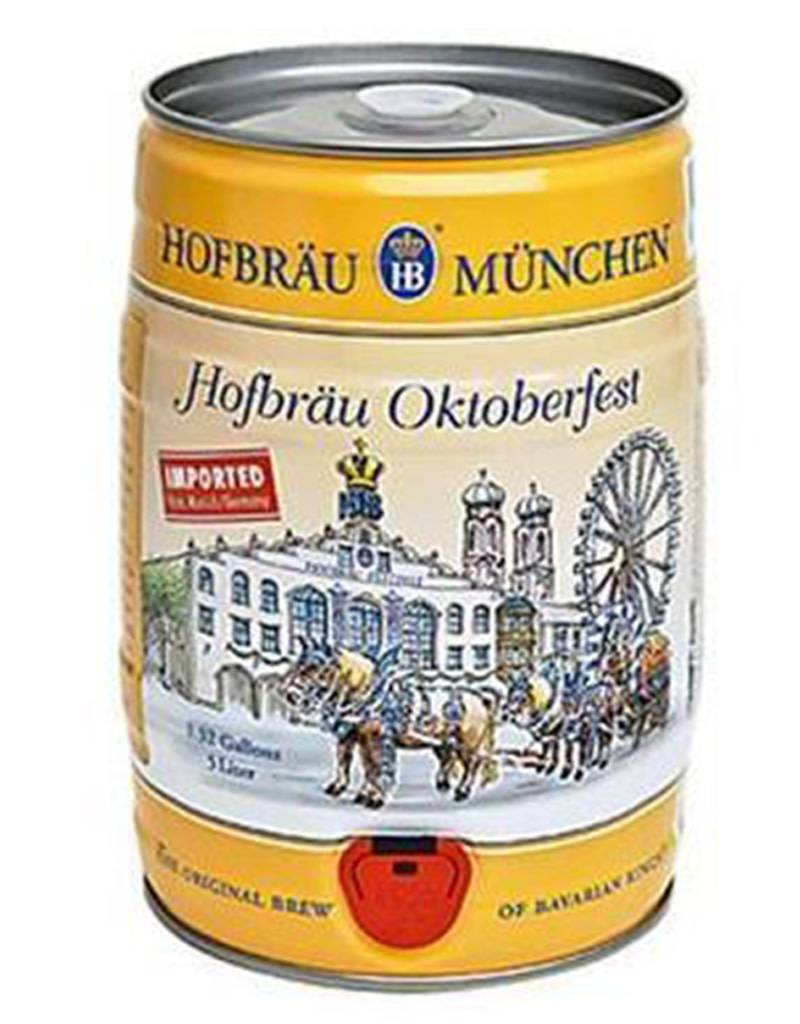 Hofbrau Munchen Hofbrau Munchen Oktoberfestbier 5L Mini-Keg