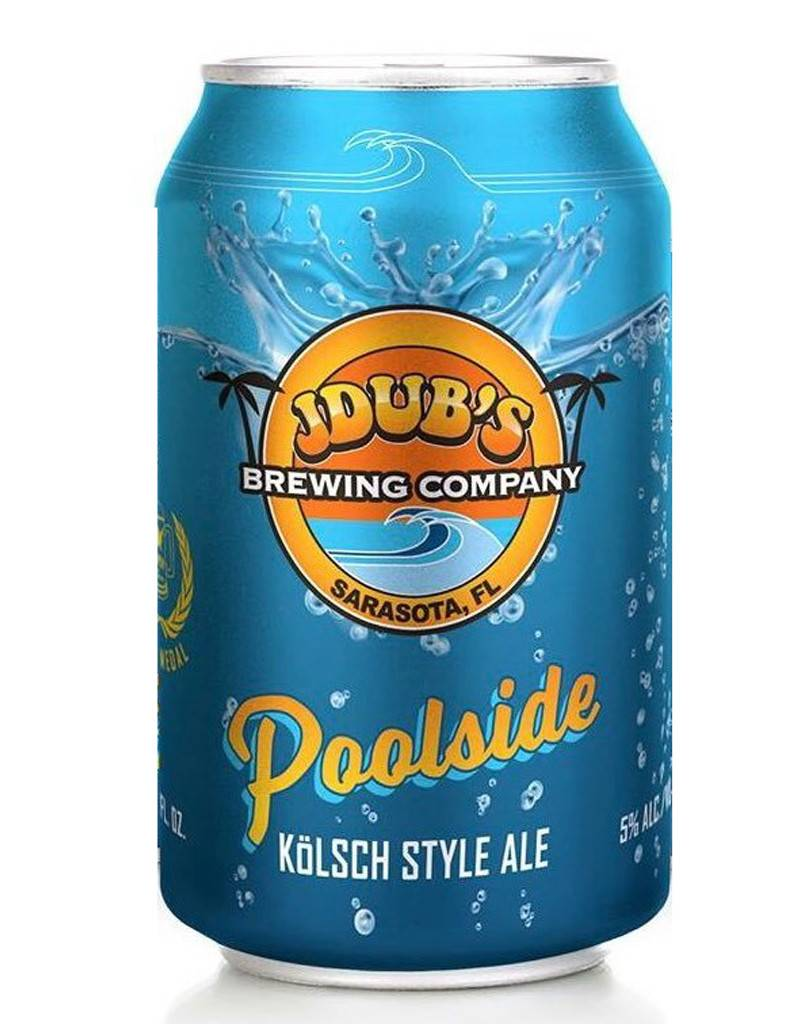 JDub's Brewing Co. Passion Wheat Beer, Sarasota, Florida, 6pkCans