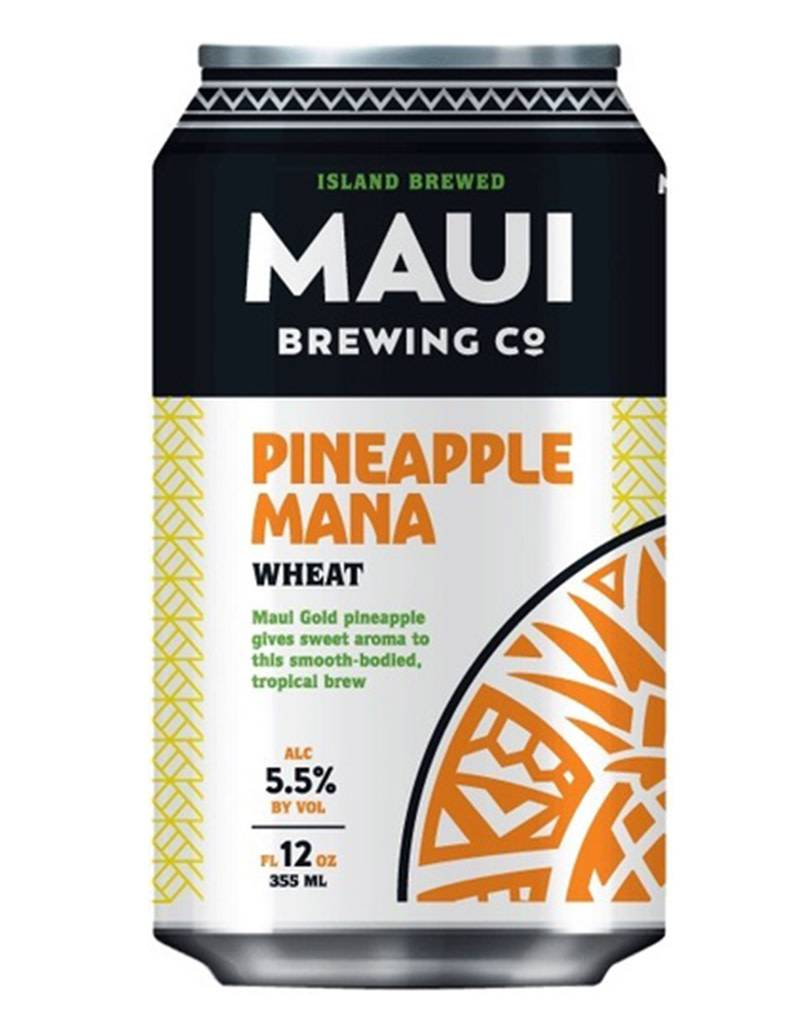 Maui Brewing Co. Maui Brewing Co. Pineapple Mana Wheat, 4pk Cans