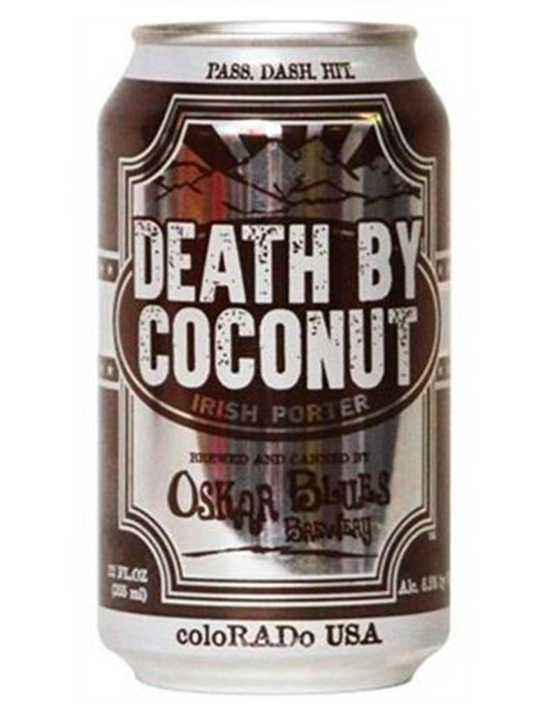 Oskar Blues Brewey Oskar Blues Death by Coconut Irish Porter, 4pk