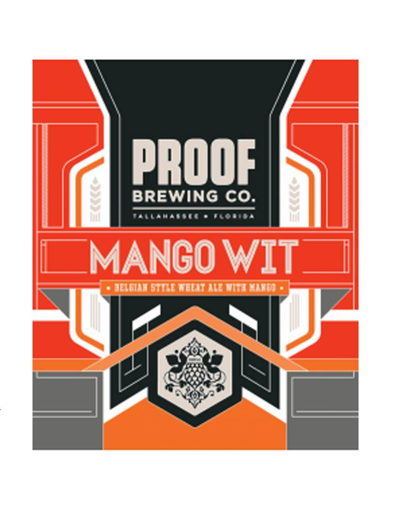 Proof Brewing Co. Mango Wit, 6pk Cans