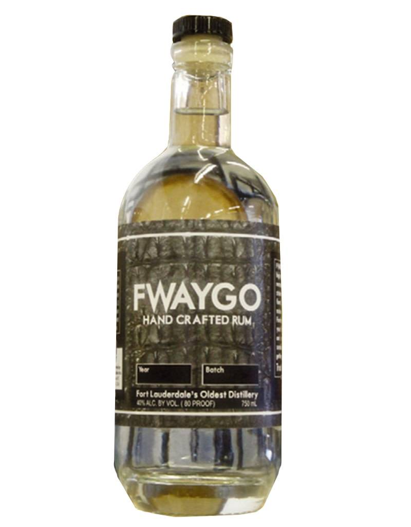 South Florida Distillers Inc. Fwaygo Hand Crafted Rum