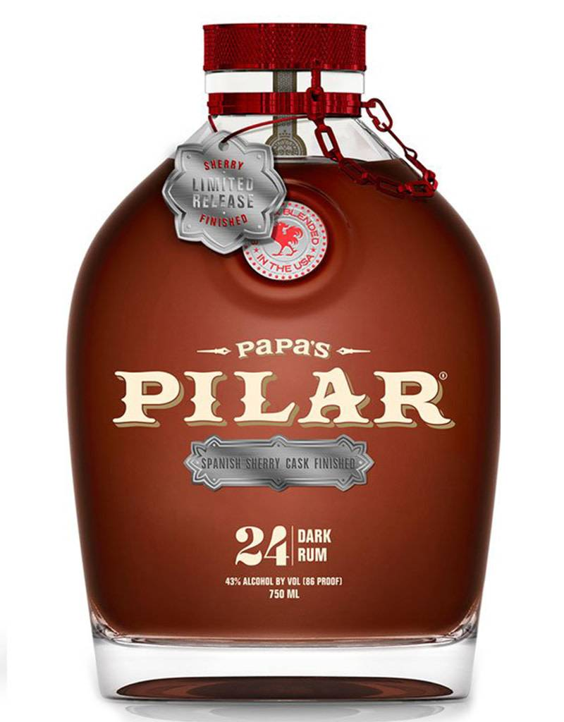 Papa's Pilar Papa's Pilar 24 Year Spanish Sherry Dark Finish
