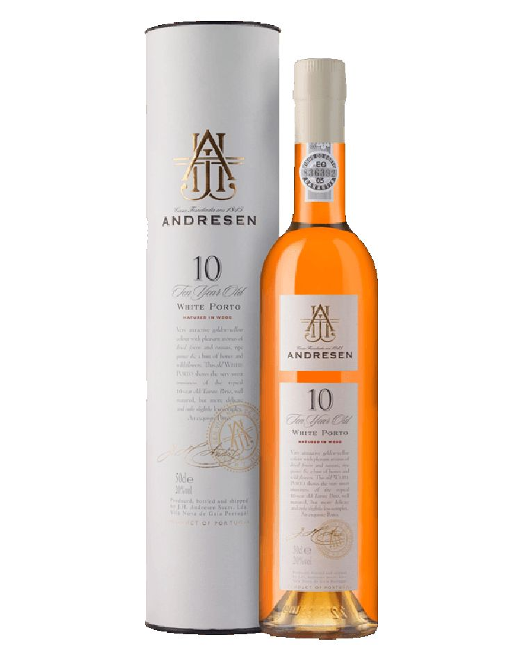 J.H. Andresen 10 Years White Port 500mL