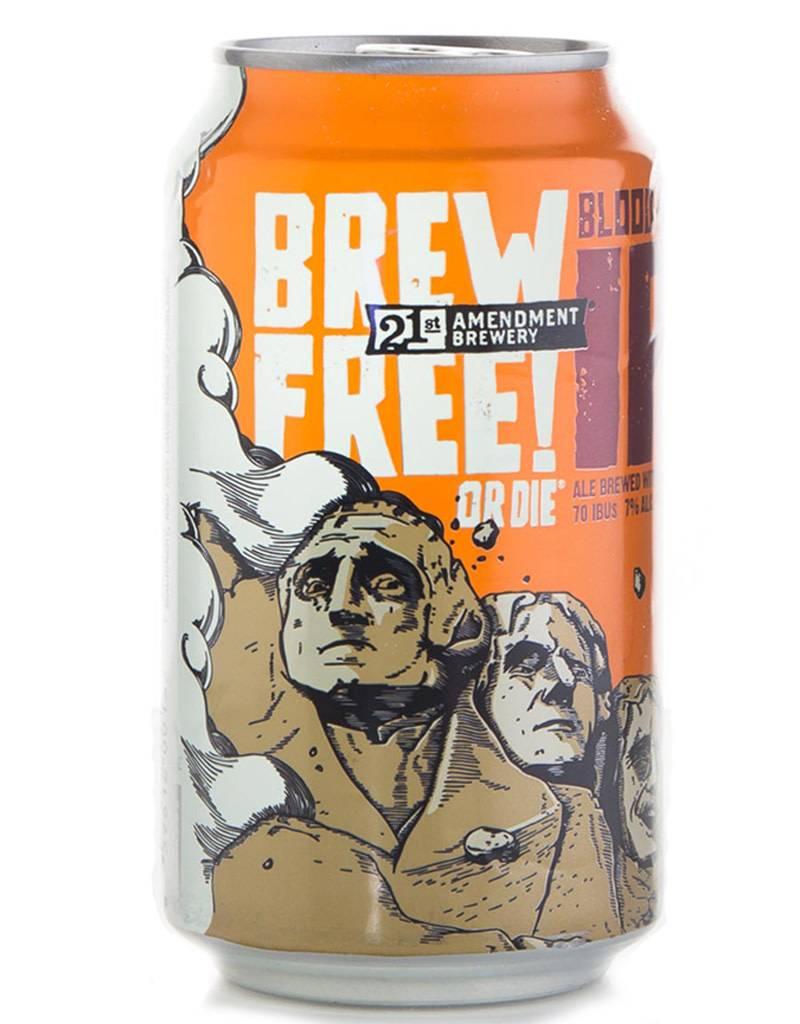 21st Amendment 21st Amendment Brewery Blood Orange IPA, 6pk Cans