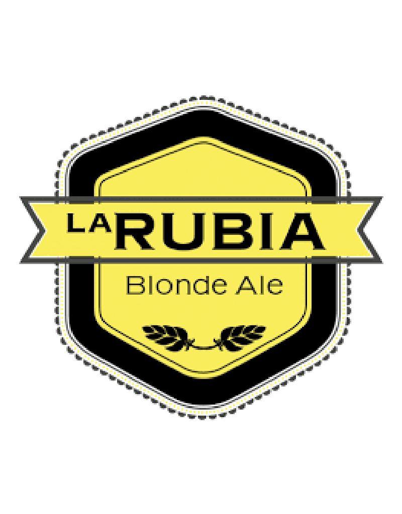 Wynwood Brewing Company La Rubia Blonde Ale, 12pk Cans