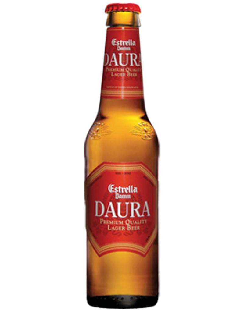 Estrella Brewery Estrella Damm DAURA Spanish Beer, 6pk