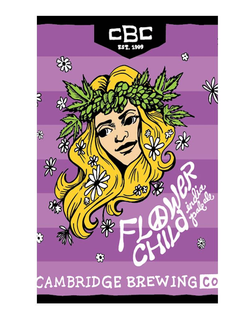Flower Child IPA by Cambridge Brewing, 6pk Cans