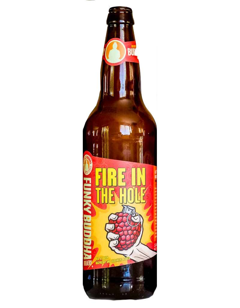 Funky Buddha Brewery 'Fire In The Hole' Red Ale w/ Raspberry Habanero