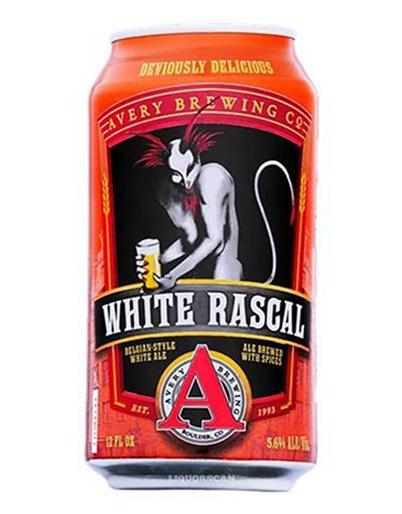Avery Brewing Co. Avery White Rascal Belgian Style White Ale, 6pk Cans