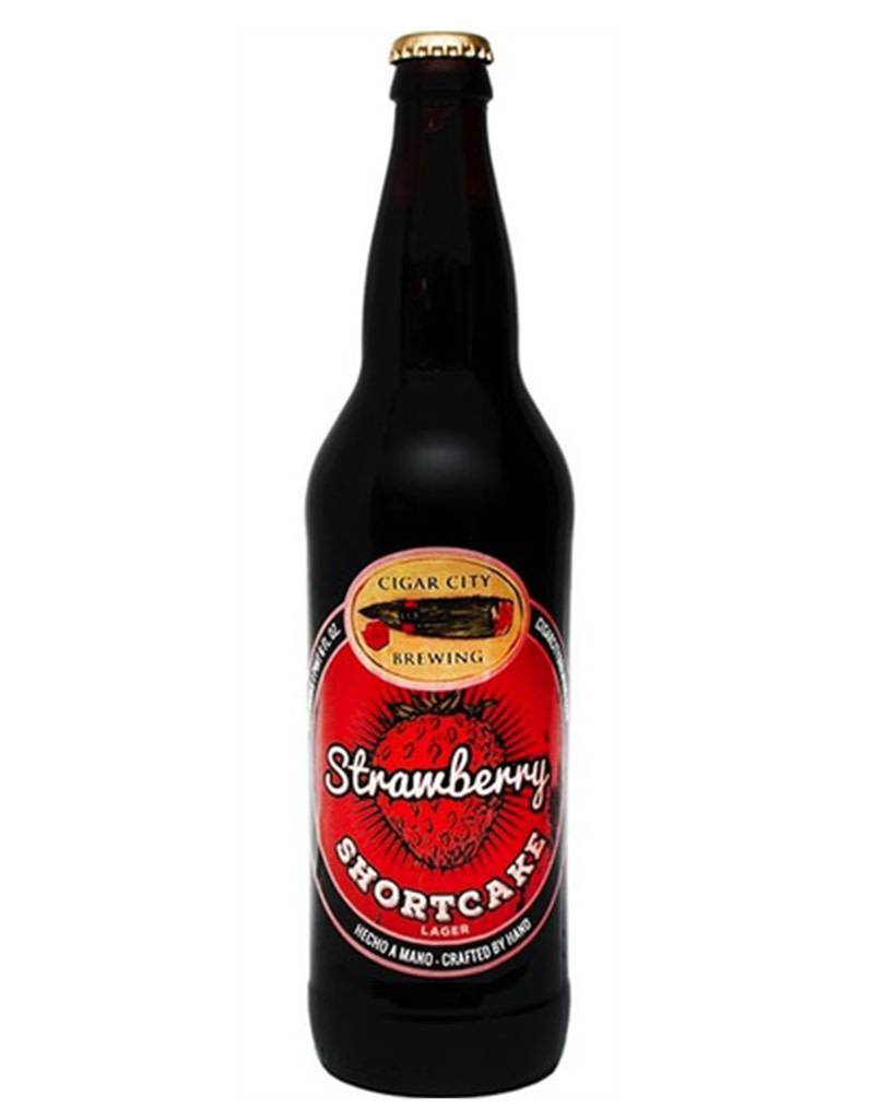 Cigar City Brewing Cigar City Strawberry Shortcake Lager, Pint