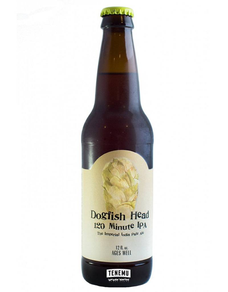 Dogfish Head Craft Brewery Dogfish Head 120 Minute IPA, 4pk