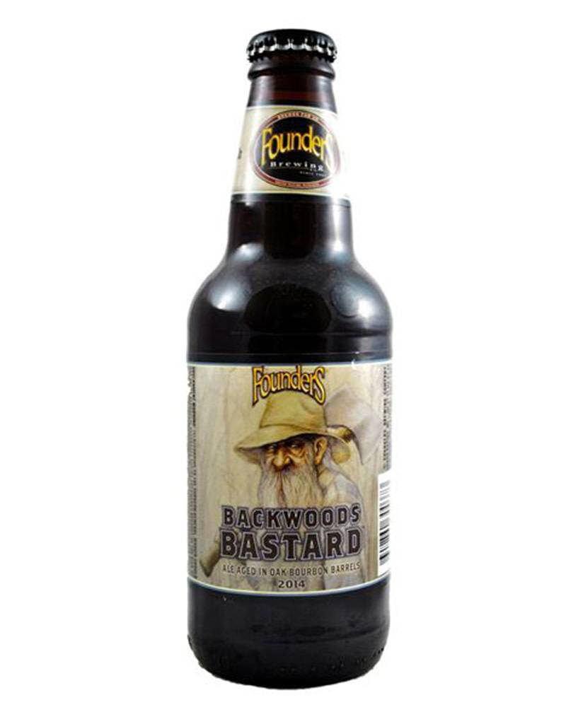 Founders Brewery Founders Brewing Co. Backwoods Bastard Scotch Style Ale Beer, 4pk