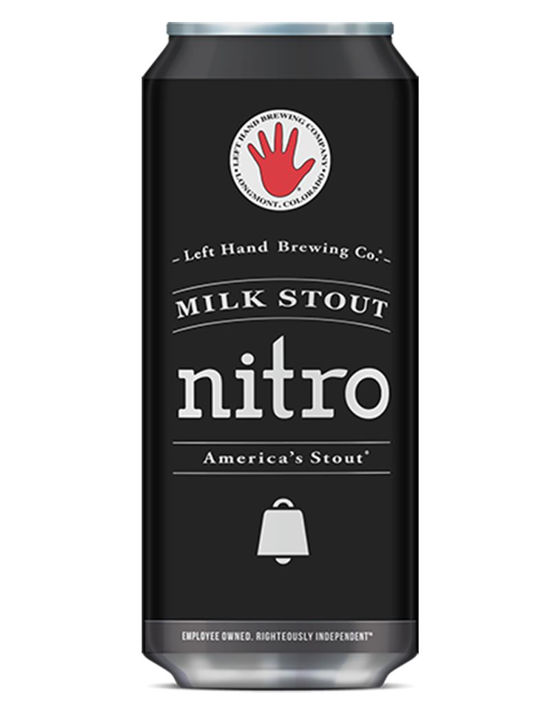 Left Hand Brewing Co. Nitro Milk Stout, 4pk Cans