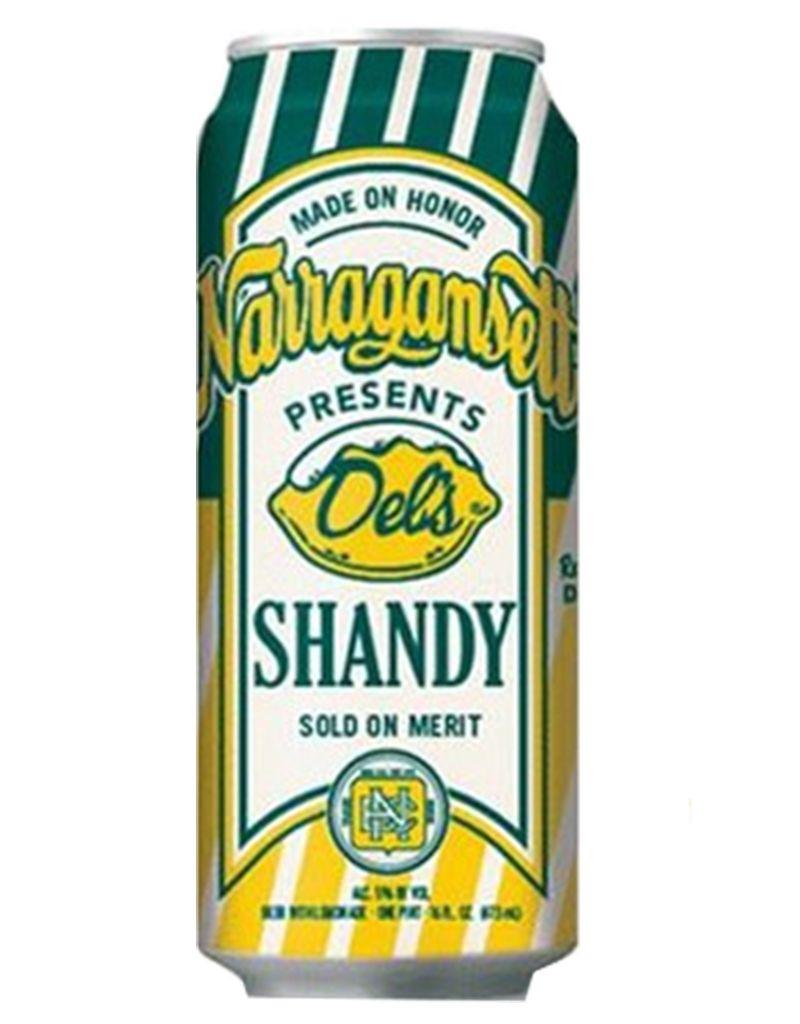Narragansett Brewing Co. Narragansett Seasonal Dels Shandy, Single Can