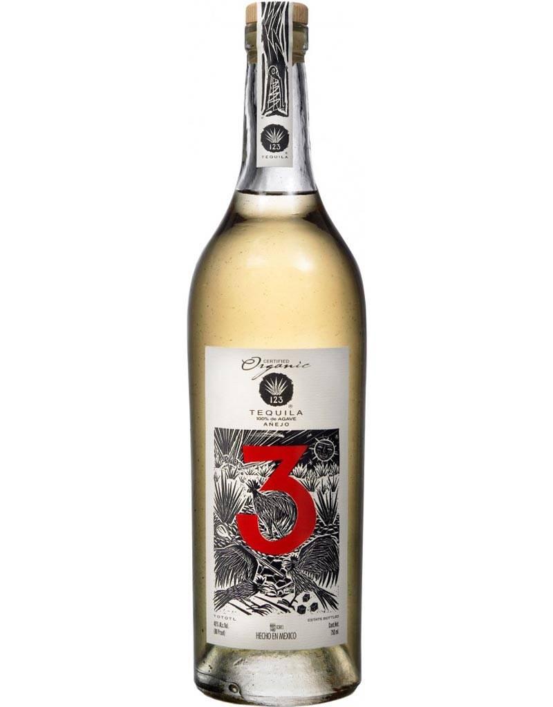 123 Organic Tequila 'Tres' Anejo