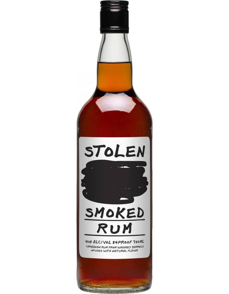 Stolen Smoked Carribbean Rum Whiskey Infused