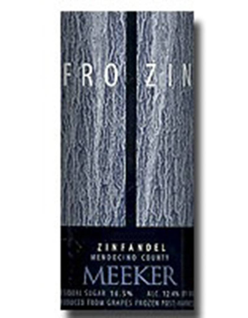 Meeker Wine 2016 'FroZin' Zinfandel Dessert Wine, 375mL