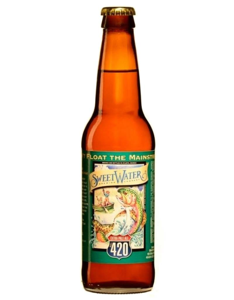 Sweetwater 420 Extra Pale Ale, 6pk Bottles
