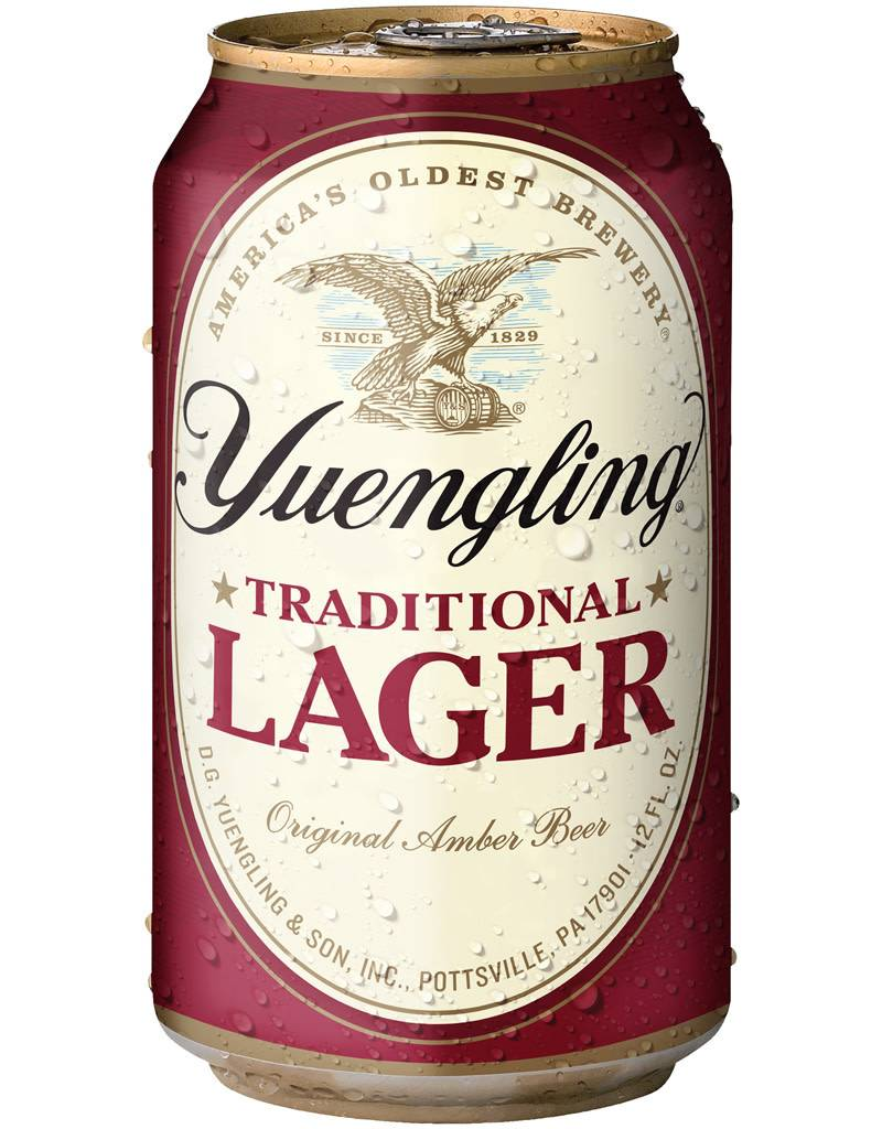 Yuengling Traditional Lager Beer, 12pk Can