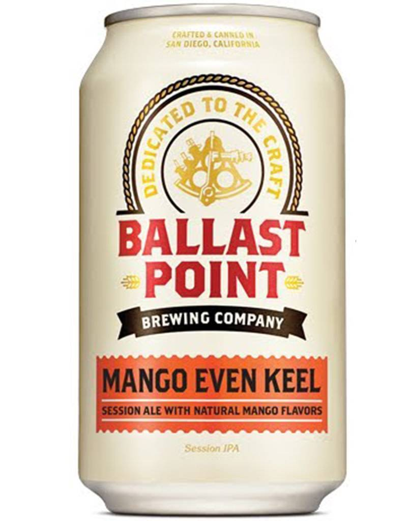 Ballast Point Mango Even Keel Ale, 6pk Cans