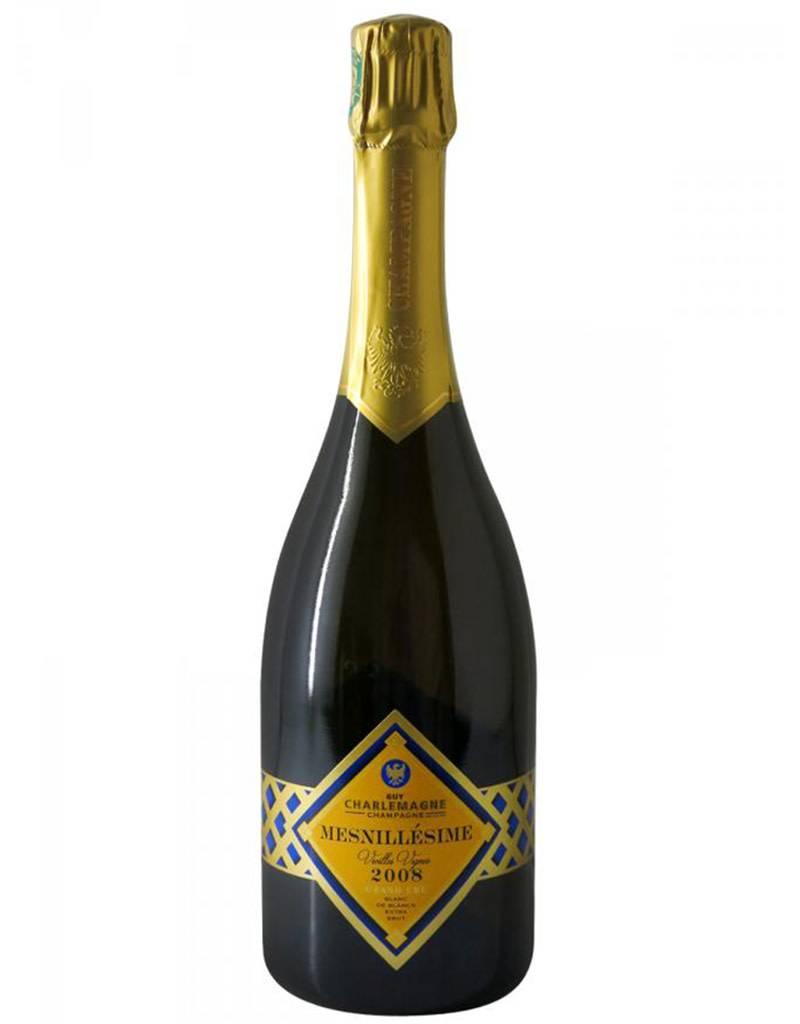 Guy Charlemagne 2005 Millesime Grand Cru Blanc de Blancs Champagne