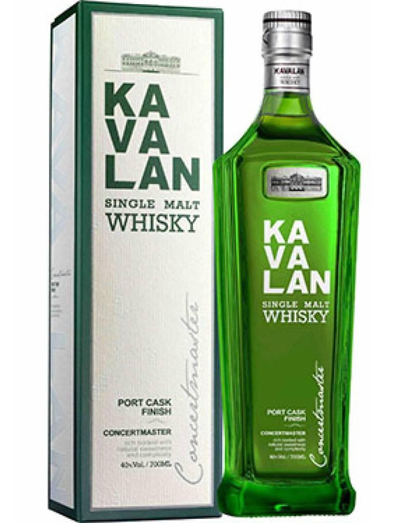 Kavalan Concertmaster Port Cask Finished Whiskey