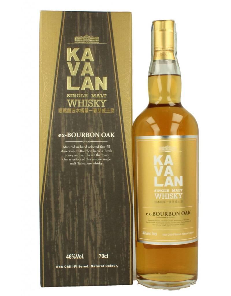 Kavalan Ex-Bourbon Oaked Whiskey