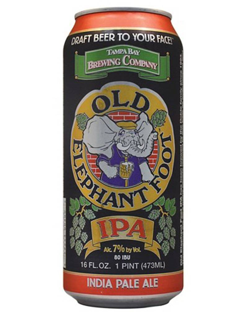 Tampa Bay Brewing Company Old Elephant Foot IPA, 16oz Single Can