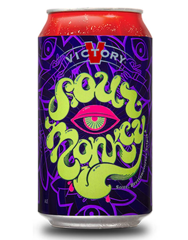Victory Brewing Co. Sour Monkey, 6pk Cans
