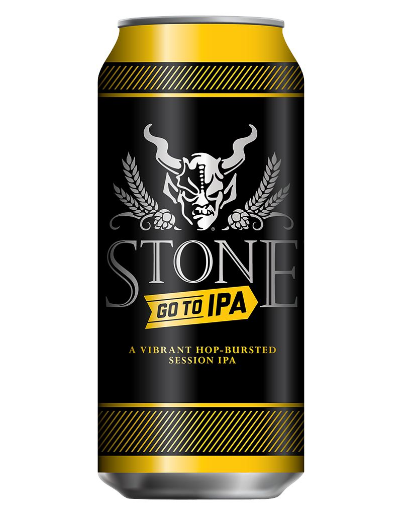 Stone Brewing Go To IPA, 16oz 6pk Can