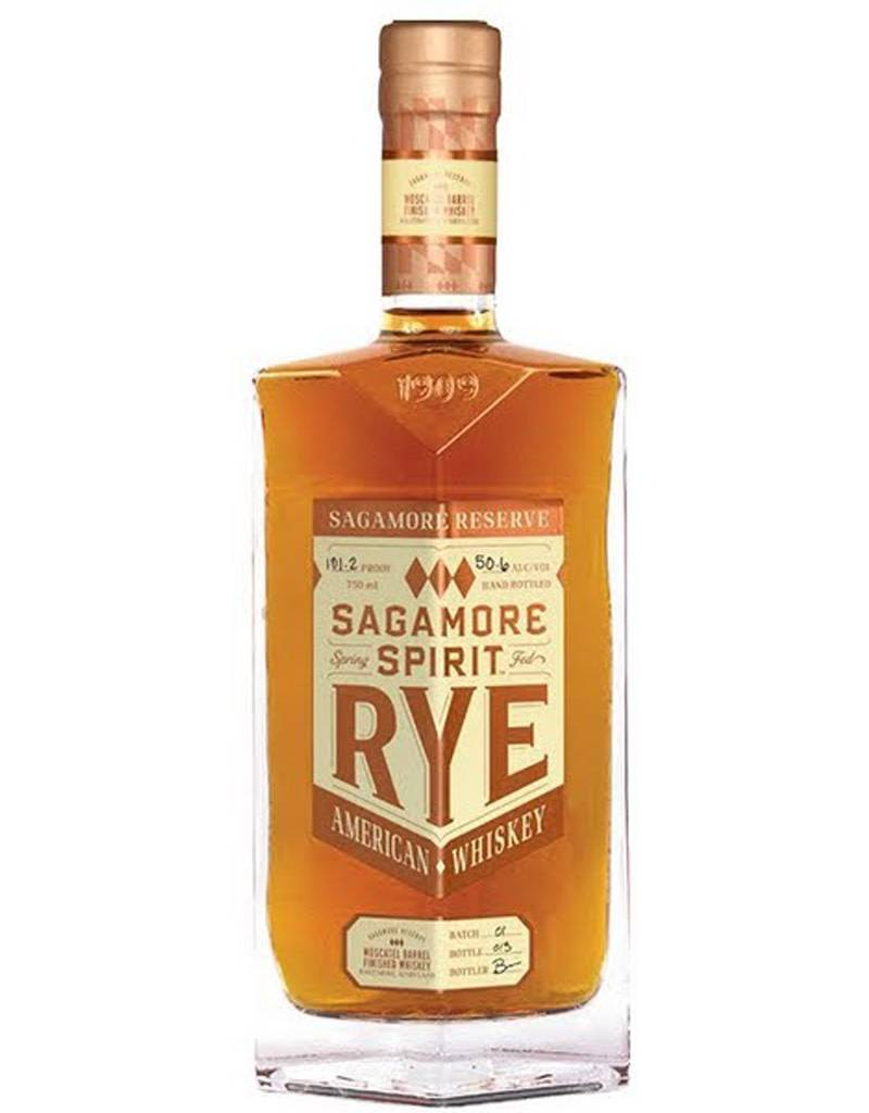 Sagamore Spirit 'Sagamore Reserve' Moscatel Barrel Finished American Rye Whiskey, Maryland, USA
