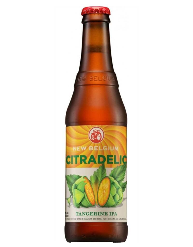 New Belgium Brewing Citradelic Tangerine IPA, 6pk Bottles