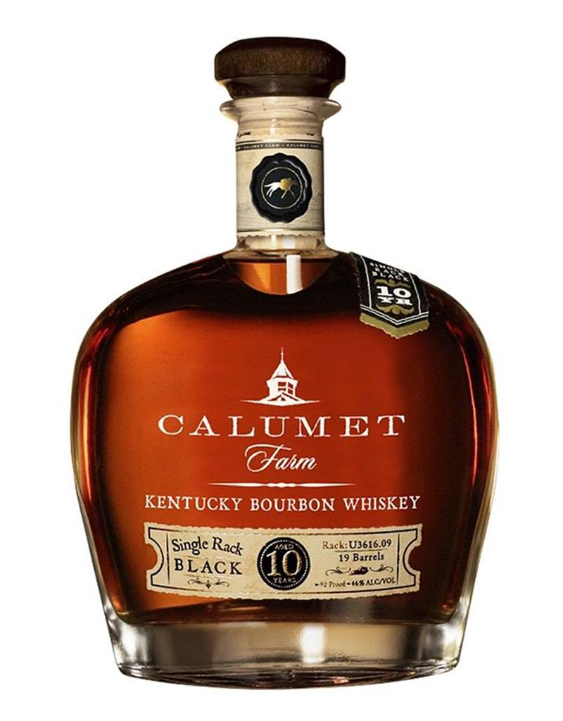 Calumet Farm, 10 Year Old, Kentucky Bourbon Whiskey