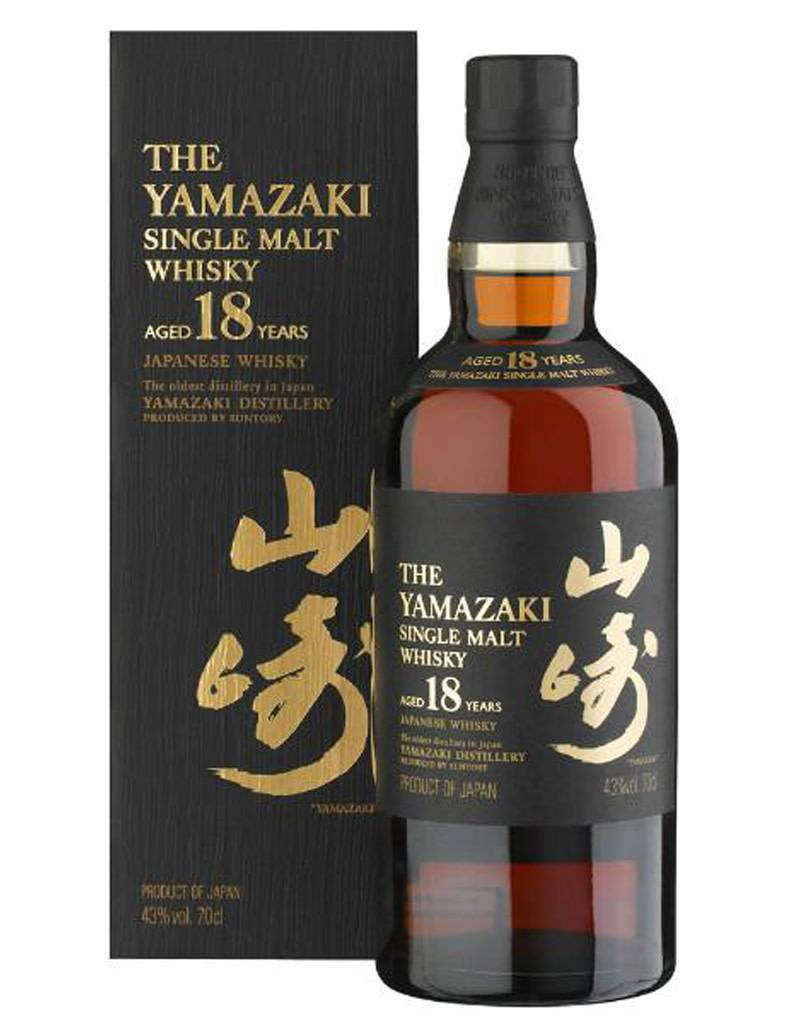 Suntory 'The Yamazaki' Single Malt Japanese Whisky 18 Year