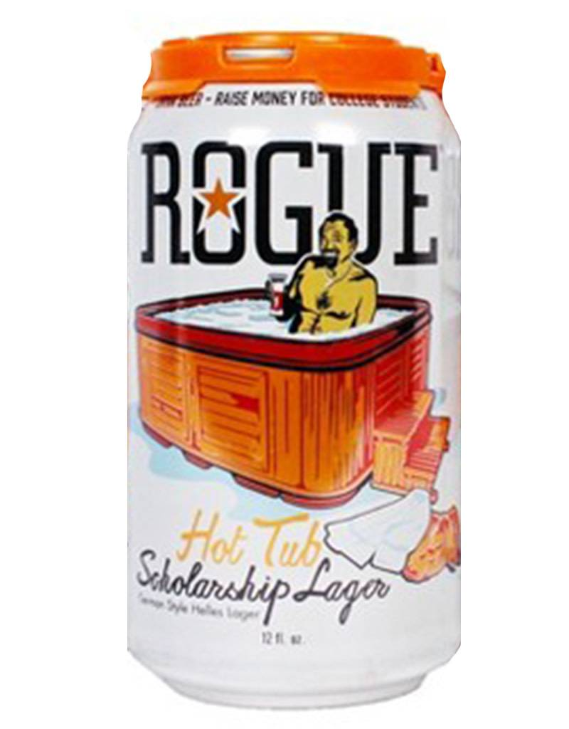 Rogue Hot Tub Scholarship Lager, 6pk Cans