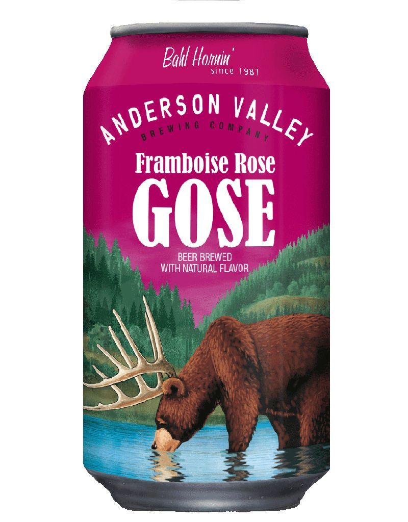 Anderson Valley Framboise Rosé Gose, 6pk Cans