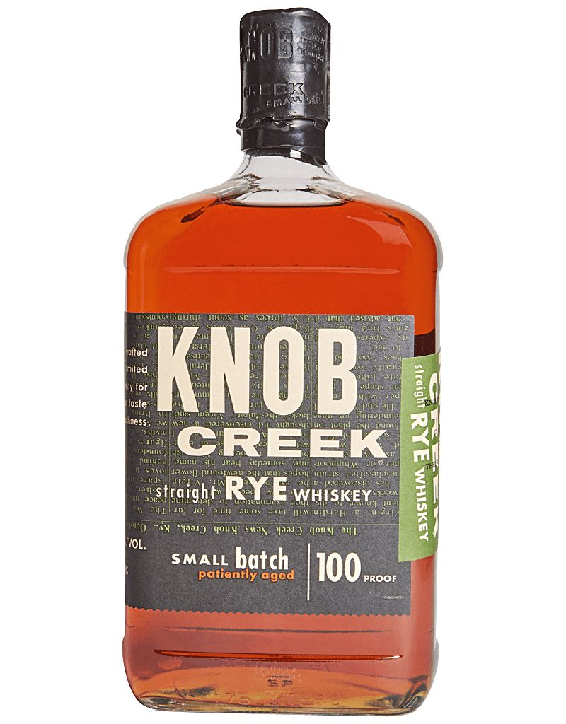 Knob Creek Distillery Knob Creek Small Batch Straight Rye 100 Proof, Whiskey, Kentucky