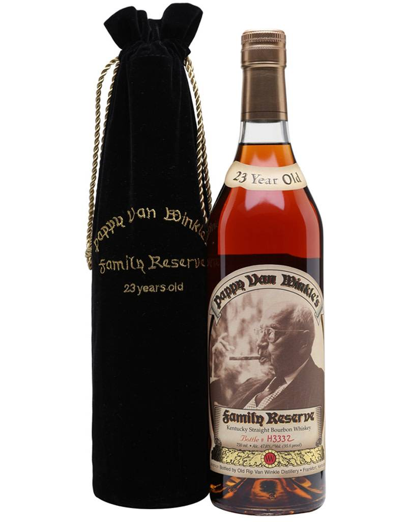 Old Rip Van Winkle 'Pappy Van Winkle's Family Reserve' 23 Year Old Kentucky Straight Bourbon Whiskey, USA